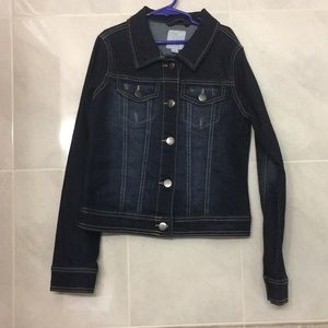 Used once/twice | Dark Blue Jean Jacket | Kids